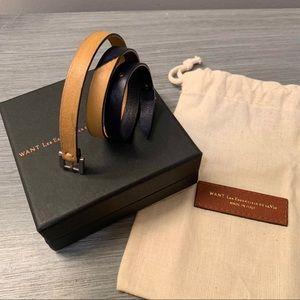 Blue/Brown WANT Les Essentiels  bracelet